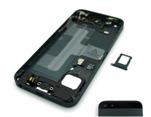 Bilde av Iphone 5 Bakdel Komplett Sort