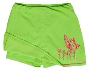 Bilde av Happy Kid Skirt - Lime Green