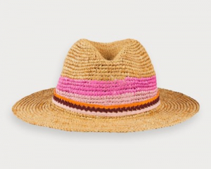 Bilde av Straw hat with colourblock fra Scotch R`Belle
