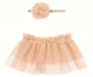 Bilde av Mini Tutu & hairband for Mini kaniner - Rose fra Maileg