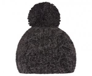 Bilde av Best Friends knitted hat 1 pompom Antracite fra Maileg
