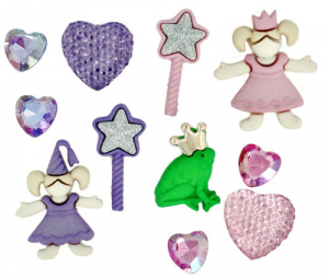 BUTTONS - DRESS IT UP 5812 - LITTLE PRINCESS