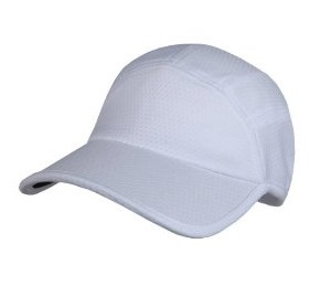Bilde av Goodbye Girl Ponytail Running Cap - hvit