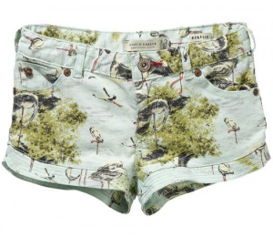 Bilde av Shorts - allover printed fra Scotch R`Belle
