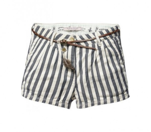 Bilde av Mini shorts in various dessins + belt fra Scotch R`Belle