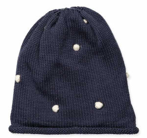 Bilde av ♥ Ull Cilia strikkelue i blue nights fra Mini A Ture