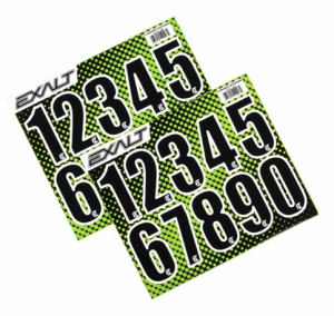 Bilde av Exalt Loader Number Stickers - Black
