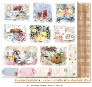 MAJA DESIGN - COFFEE IN THE ARBOUR 693 - DELICIOUS MOMENTS