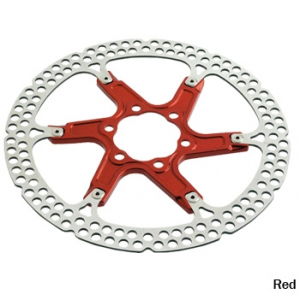Bilde av Formula 6-bolt Rotor, Red, 180mm