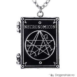 Bilde av Anheng: Necronomicon Locket -45mm Tinn