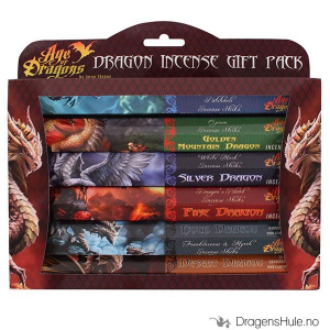 Bilde av Røkelse: Anne Stokes Age of Dragons Gift Pack Agarbathi pinner