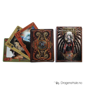 Bilde av Kortstokk: Anne Stokes Steampunk Bicycle Playing Cards