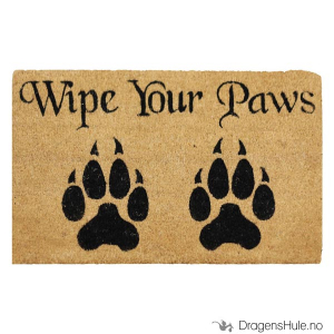 Bilde av Dørmatte: Wipe Your Paws