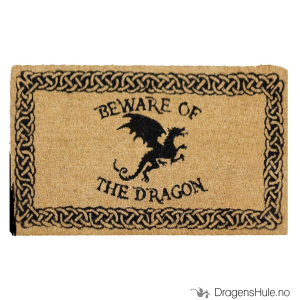 Bilde av Dørmatte: Beware of the Dragon