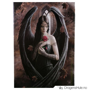 Bilde av Magnet: Anne Stokes: Angel Rose