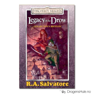 Bilde av Bok: Forgotten Realms: Legacy of the Drow Collectors Edition