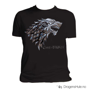 Bilde av T-skjorte: Game of Thrones -Stark Chrome Sigil H