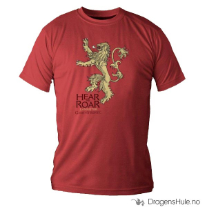 Bilde av T-skjorte: Game of Thrones -House Lannister H