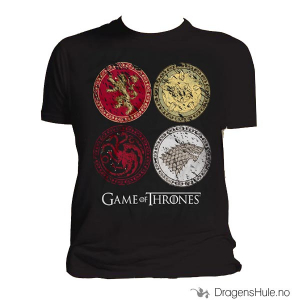 Bilde av T-skjorte: Game of Thrones -House Crests H