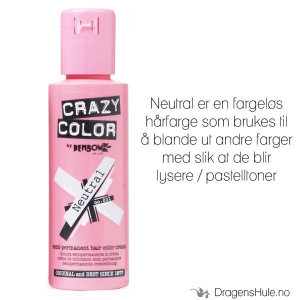 Bilde av Hårfarge: Neutral Mixer -Crazy Color (til å blande med)