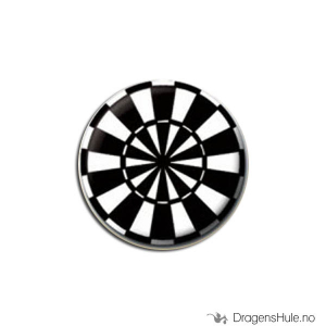 Bilde av Button 25mm: Dartskive