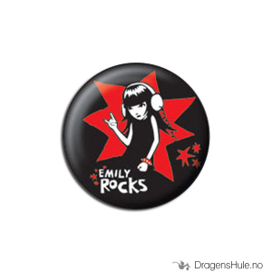 Bilde av Button 25mm: Emily Strange Rocks