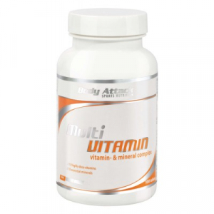 Bilde av Body Attack Multivitamin 100 tabs - Vitaminer &