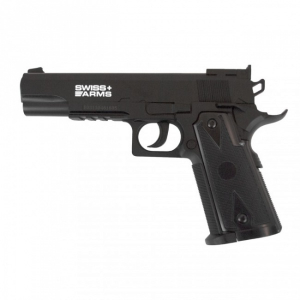 Bilde av Swiss Arms P1911 Match Luftpistol - 4.5mm BB