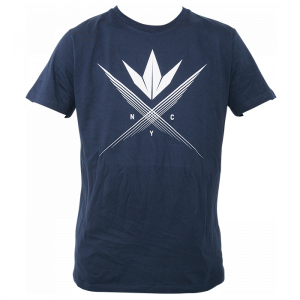Bilde av Bunker Kings T-Shirt - Cross Navy