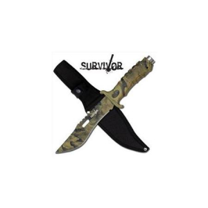 Bilde av Survivor Camo Hunting Knife - Jungle Hunter