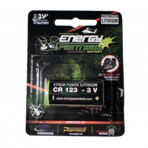 Bilde av Energy Paintball - CR123 - 3V