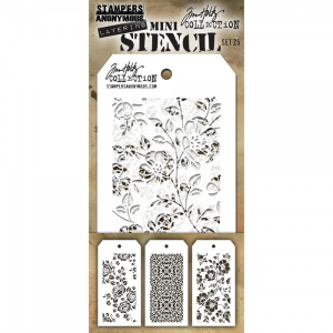 TIM HOLTZ - LAYERED STENCIL - MINI SET #25