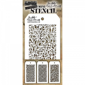 TIM HOLTZ - LAYERED STENCIL - MINI SET #26