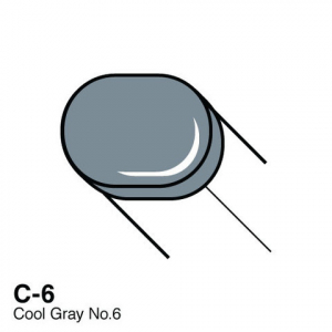 COPIC - SKETCH MARKER - COOL GRAY - C6