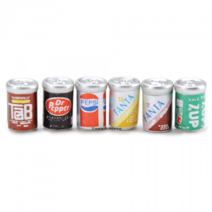 TIMELESS MINIATURES - SODA CANS
