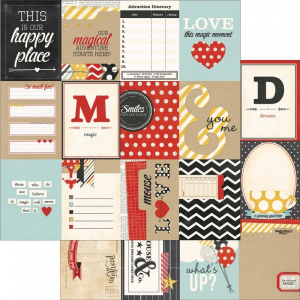 SIMPLE STORIES - SAY CHEESE 3310 - 3X4 JOURNALING CARD ELEMENTS