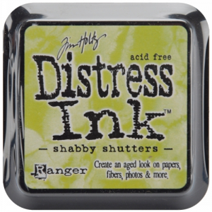 DISTRESS DYE INKS PAD - Shabby Shutters