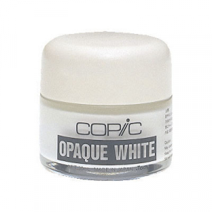 COPIC - OPAQUE WHITE PIGMENT (krukke)