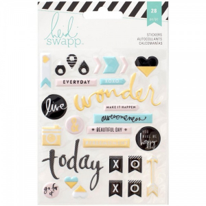 HEIDI SWAPP - STICKERS 312577 - PUFFY STICKERS