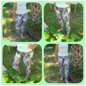 Bilde av Running Funky Magic Capri