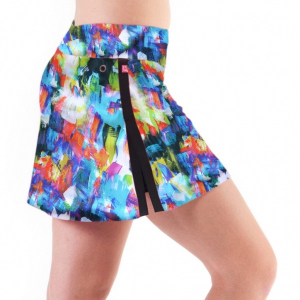 Bilde av Gym Girl Ultra Skirt Dash Print - Limited Edition