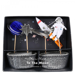 Bilde av Cake toppers astronaut TO THE MOON FRA Meri Meri