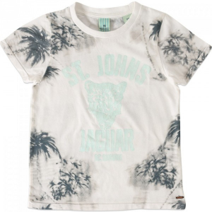Bilde av Cool t-shirt hvit hawai  fra Scotch Shrunk