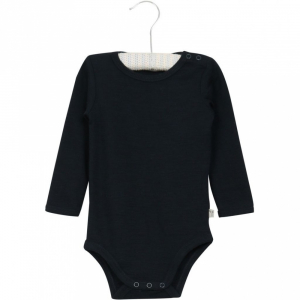 Bilde av Wool body i navy fra Wheat