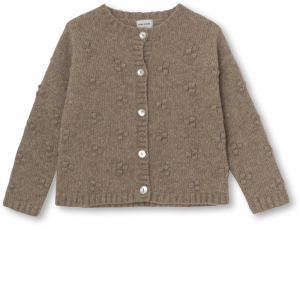 Bilde av Jente cardigan Dot i apple cinnamon fra Mini A Ture