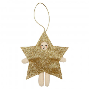 Bilde av Tree Decoration star dress up fra Meri Meri