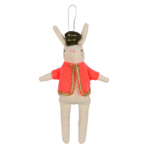 Bilde av Tree Decoration Rabbit Soldier fra Meri Meri