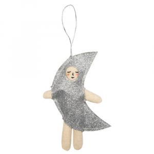 Bilde av Tree Decoration moon dress fra Meri Meri