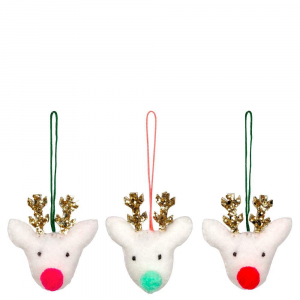 Bilde av Tree Decoration Set Reindeer fra Meri Meri