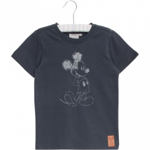 Bilde av Disney t-shirt Mickey greyblue fra Wheat